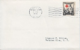 U.S. FDC 702  RED CROSS - First Day Covers (FDCs)