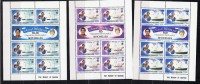 SEYCHELLES   1981  Prince Charles And Diana Spencer Wedding  Complete Sheetlets MNH ** - Seychelles (1976-...)
