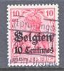 Germany Occupation Belgium N 3  (o) - Occupation 1914-18