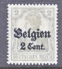 Germany Occupation Belgium N 10  * - Occupation 1914-18