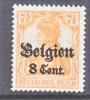 Germany Occupation Belgium N 13  * - Occupation 1914-18