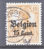 Germany Occupation Belgium N 15  (o) - Occupation 1914-18