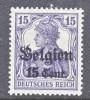 Germany Occupation Belgium N 16  * - Occupation 1914-18