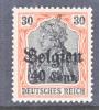 Germany Occupation Belgium N 19  * - Occupation 1914-18
