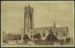 """St John's Church, Glastonbury"",  Not Postally Used. - England"