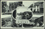 """""""Somerset""""  Multi-view,  Postally Used In 1967. - England"""