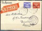 B.11.JUL.381 .  POSTWAARDESTUK VERSTUURD IN NEDERLAND .   1942.  PER EXPRESSE. - 1891-1948 (Wilhelmine)