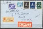 B.11.JUL.383 .  POSTSTUK VERSTUURD IN NEDERLAND .   1942.  PER EXPRESSE. AANGETEKEND. - 1891-1948 (Wilhelmine)