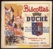 BUVARD ANCIEN / BISCOTTES DUCHE / POUR LES ESTOMACS DELICATS / CHABLIS / YONNE - Blotters