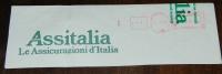 ASSITALIA ASSICURAZIONI Assicurazione Assurance Insurance Torino Italia Italy Italie AM EMA Meter Rossa - Affrancature Meccaniche Rosse (EMA)