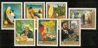 HUNGARY - 1967.Hungarian Paintings III. Cpl.Set MNH! - Ungheria