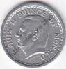 LOT 9313 *MONACO*LOUIS II*PIECE DE 1 FRANC ALU*SANS DATE (1943)*SUP +** - Monaco
