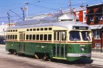 Tram Tramway Street Car Philadelphia Pa, USA - Tram