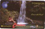 Dominica : EMERALD POOL . NO Number Control . Mint . - Dominica
