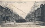 BRUXELLES Laeken Avenue De La Reine Precurseur - Timbrée 1906 Excellent état - Prachtstraßen, Boulevards