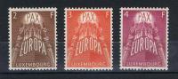 Luxemburg 1957 - Europa/Cept - Mi.Nr. 572-74 Kpl. Satz Ungebraucht - Ungebraucht