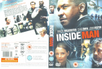 INSIDE MAN - Denzel Washington (Details As Scan) - Policíacos