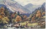 TUCKS OILETTE - ABER FROM THE BRIDGE - LONGSTAFFE - Caernarvonshire