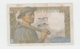FRANCE 10 FRANCS 1942 P 99d 99 D - 1871-1952 Circulated During XXth