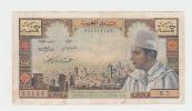 Morocco 5 Dirhams 1960 VF Crispy Banknote P 53a 53 A - Morocco