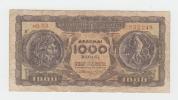 Greece 1000 Drachmai 1953 VG Banknote P 326b 326 B - Greece