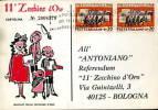 11° ZECCHINO D'ORO ANTONIANO BOLOGNA 1971 - Pubblicitari