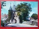 V6-89-yonne-villeneuve Sur Yonne-porte De Joigny--gendarme-moto -votures- - Villeneuve-sur-Yonne