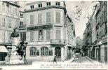 17 Charente-Maritime -circulée 1924- La Rochelle - Le Monument De E.Fromentin Et La Rue Du Temple - Animée... - La Rochelle