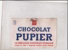 BUVARD CHOCOLAT PUPIER - Cacao