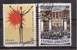 Greece 1983 _ Mi 1529/30 - National Technical University's Uprising - Set Used (o) - Oblitérés