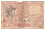 5 Francs Violet 1939 . Défectueux. Et Fragment 10 Frs. Offert. - 1871-1952 Circulated During XXth