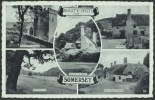 """""""Somerset""""  Multi-view,  Postally Used In 1959 - England"""