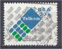 SOUTH AFRICA 1991 Establishment Of Post Office Ltd And Telekom Ltd - 27c - Telekom SA Ltd Emblem FU - South Africa (1961-...)
