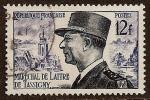 FRANCE 1954  Maréchal De Lattre De Tassigny   Yvert N° 982 Oblitéré - France