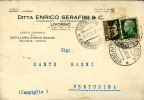 LIVORNO SERAFINI COMMISSIONI TESTATINA PUBBLICITA' 1936 - Pubblicitari