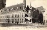 "17784    Belgio,  Campagne De 1914, Ruines D""Ypres,  Effet D""une Bombe A L""Hotel De Ville,  NV  (scritta) - Ieper"