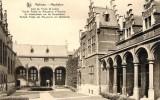 """17792   Belgio,  Malines,  Mechelen,  Cour De Palais  De Justice,  Ancien Palais  De  Marguerite  D""""Autriche,  NV - Mechelen"""