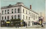 Minot ND North Dakota, Opera House Block, Union National Bank, Street Scene , 1910s Vintage Postcard - Minot
