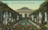 """""""Lily Pond And Pavilion Dome, Weston-Super-Mare"""".   Not Postally Used. - Weston-Super-Mare"""