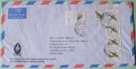 Kenya 1999 Cover To England UK - Birds Bee-eater Guinea Fowl - St. Paul Theology - Kenya (1963-...)