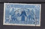 PGL - ITALY SASSONE N°297 - 1900-44 Vittorio Emanuele III