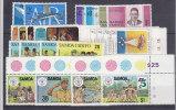 Nr 135/136, 146/149, 276/279, 306/309, 362/365, 481/484 **, Michel = 18 Euro (XX10938) - Samoa