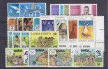 Nr 135/136, 146/149, 276/279, 306/309, 362/365, 481/484 **, Michel = 18 Euro (XX10939) - Samoa
