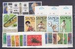 Nr 319, 380/394, 486/489, 494/497 **, Michel = 22 Euro (XX10945) - Samoa