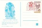 Czechoslovakia 1992. Commemorative Postal Card Cyril A Metod Methodius Pope John Paul - Christentum