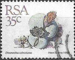 "SOUTH AFRICA 1988 Succulents - 35c. - ""Dinteranthus Wilmotianus""   FU - South Africa (1961-...)"
