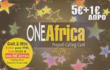 GREECE - One Africa Prepaid Card 5+1 Euro, Used - Greece