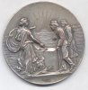 CUARTEL DE INVALIDOS COLOCACION DE LA PIEDRA FUNDAMENTAL 8 DE OCTUBRE DE 1904 BUENOS AIRES HANDICAPPED INVALIDES DE GUER - Tokens & Medals