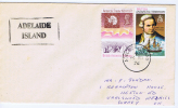 British Antarctic Territory  1976 Cover UK  From Adelaide Island - Non Classificati