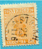 # Sweden    10, Used, SCV $27.50,   (sw010-4, Michel 10 - Used Stamps